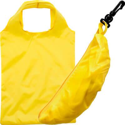 Boodschappentas met riemclip