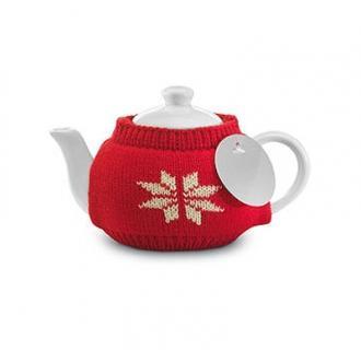Ceainic din ceramica acoperit cu husa textila 280 ml