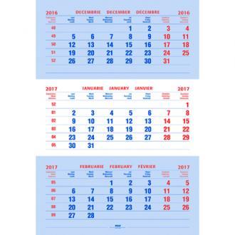 Calendar triptic clasic