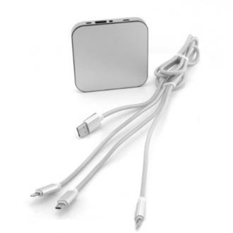 Acumulator extern 3-in-1 4000mAh, cablu micro USB