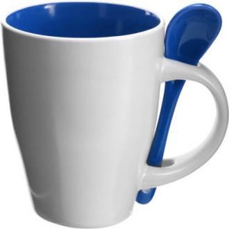 Cana pentru cafea cu lingurita