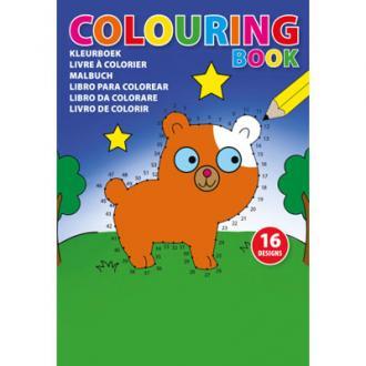 Kleurboek voor kinderen (A5 formaat).