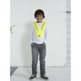 Promotional safety vest for children.