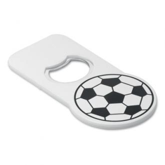 Deschizator de capace cu model de minge fotbal