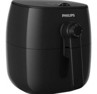 Friteuza Philips Airfryer HD9621/90, Tehnologie TurboStar 200 grade C, Negru