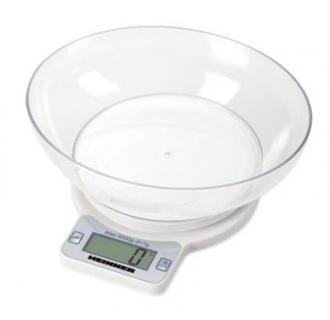 Cantar de bucatarie Heinner Quick 3000, 3 kg, Alb