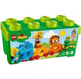 LEGO® DUPLO® Prima mea cutie de caramizi cu animale 10863