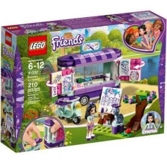 LEGO® Friends Standul de arta al Emmei 41332