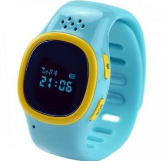 Ceas Smartwatch pentru copii Vonino KidsWatch S2, Sim Prepay Orange , GSM, GPS, Blue