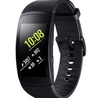 Bratara fitness Samsung Gear Fit 2 Pro, Large, Black
