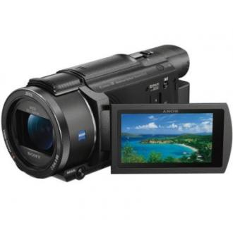 Camera video Sony Handycam® FDR-AX53, 4K, B.O.SS, Negru