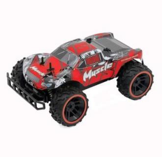 Masinuta M-Toys cu telecomanda, Baja-racer all-terrain, Scala 1:12, Rosu