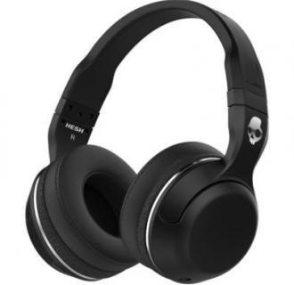 Casti audio tip DJ, Skullcandy Hesh, Bluetooth, Black