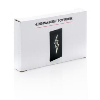 Acumulator cu logo luminos 4.000 mAh