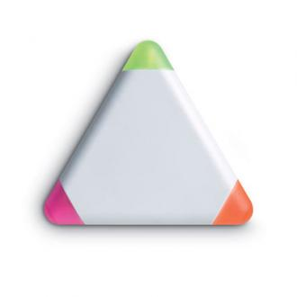 Evidentiator triunghiular cu 3 culori Triangulo