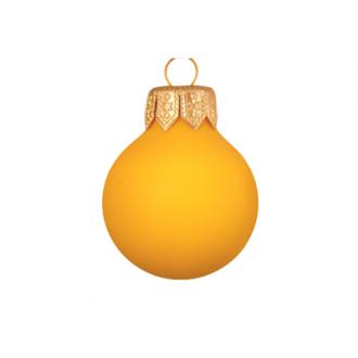 Glazen kerstballen - 60mm, kleuren met eierschaaleffect
