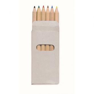 6 creioane colorate Abigail