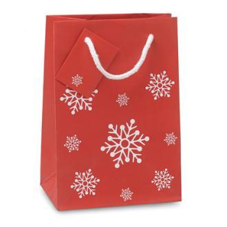 Sacosa mica de Craciun pentru cadouri