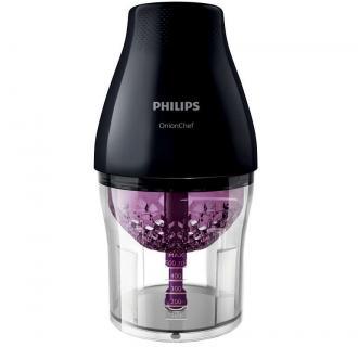 Tocator Philips HR2505/90, 500 W, 1.1 l, 2 functii, Negru