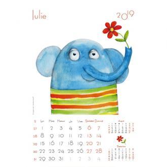 Calendar de perete Ilustratii