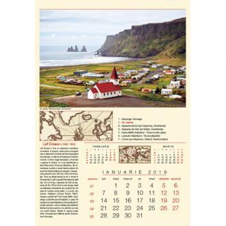 Calendar de perete Expeditii