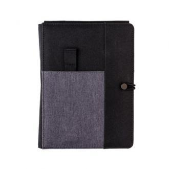Kyoto notitieboek met 5W draadloze oplader