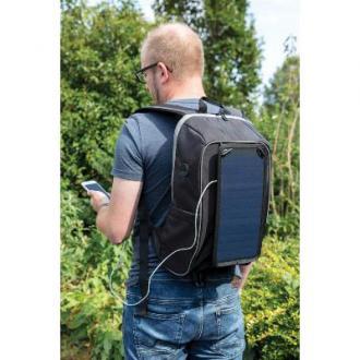 Hiking rugzak met solar paneel PVC vrij