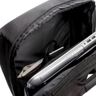 Swiss peak 15'' anti theft rugzak met RFID & USB PVC vrij