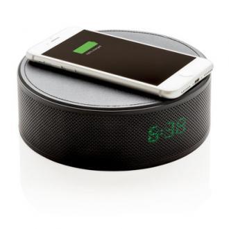 Boxa cu radio, incarcare wireless 5W si ceas cu alarma