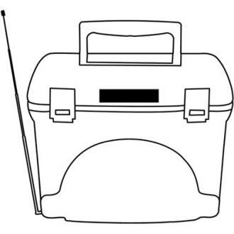 Lada frigorifica cu radio