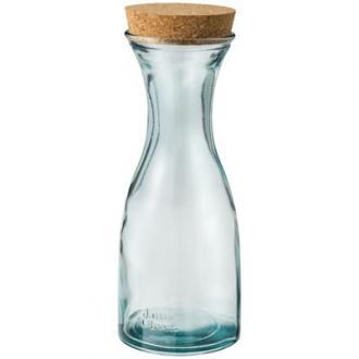 Carafa Zest din sticla reciclata si dop pluta