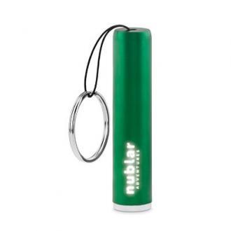 Lanterna LED cu logo luminos si snur Sanlight