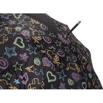 Automatische paraplu die van kleur verandert