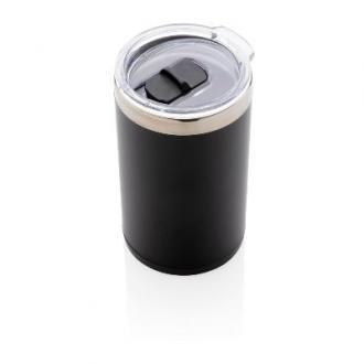 Cana de cafea cu capac si logo luminos