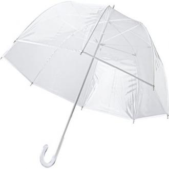 Handmatige transparante paraplu van PVC, 8 panelen