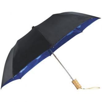 Blue skies 21 inch 2-sectie automatische paraplu