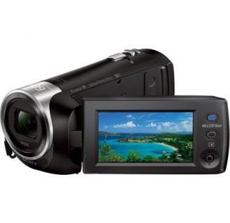 Camera video Sony Handycam HDRPJ410B cu proiector incorporat, SteadyShot, Full HD, Negru