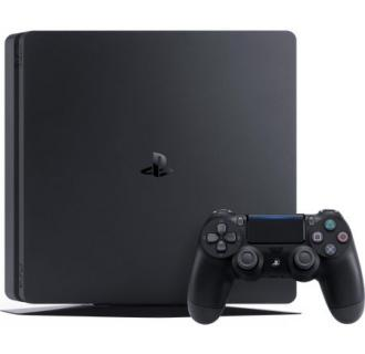 Consola PlayStation 4 1TB Slim plus Ratchet&Clank, Uncharted 4, The Last Of Us , black