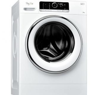 Masina de spalat rufe Whirlpool FSCR80423, 6th Sense, Supreme Care, 8 kg, 1400 RPM, Direct Drive, Touch Control, Clasa A+++, 60 cm, Alb