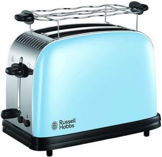 Prajitor de paine Russell Hobbs Colours Plus Heavenly Blue 23335-56, 1670W, 2 felii, Albastru