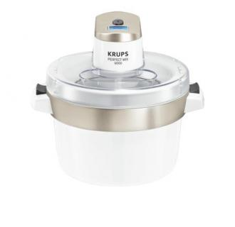 Aparat pentru inghetata Krups Perfect Mix GSV241, 1L, Alb