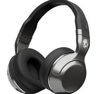 Casti Audio Over-Ear Mic SkullcandHesh Wireless Silver/Black/Chrome