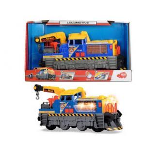 Locomotiva Dickie Toys cu lumini si sunete