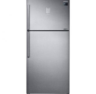Frigider cu doua usi Samsung RT50K6335SL/EO, 500 l, Clasa A++, No Frost, Compresor Digital Inverter, Twin Cooling Plus, Smart Conversion, Afisaj extern, H 178.5 cm, Inox