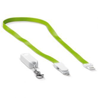 Snur legitimatie cu cablu de incarcare 3in1