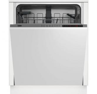 Masina de spalat vase incorporabila Beko DIN25410, 14 seturi, 5 programe, Clasa A+, 60 cm, Gri