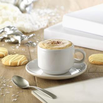 Ceasca cu farfurie cappuccino 200ml