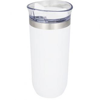 Lekvrije koperen vacuümgeïsoleerde drinkbeker met draaidop
