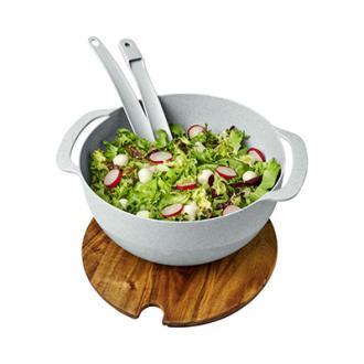 Bol pentru salata Lucha realizat din fibre de griu