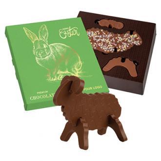 Figurina de ciocolata in forma de oita 3D